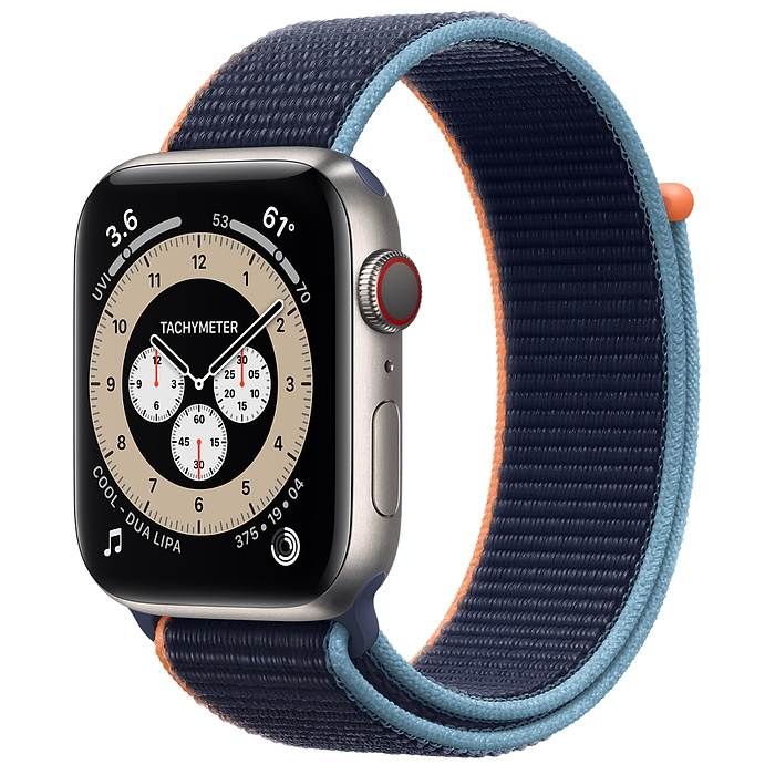 Apple Watch Series 6 Edition Titanium Case with Sport Loop New Seal