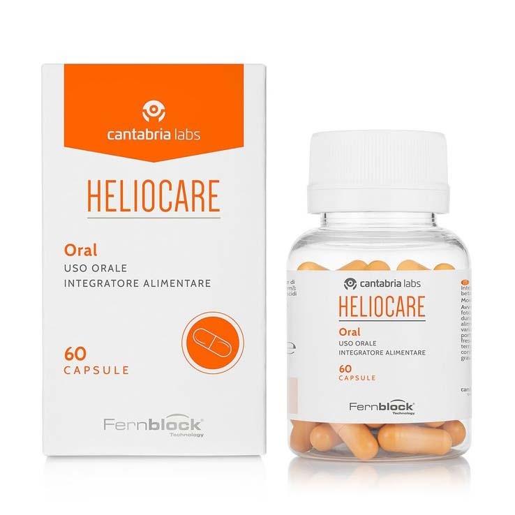 Viên uống chống nắng toàn thân, bảo vệ mắt - Oral Ultra - Heliocare |  EVASHOP.COM.VN