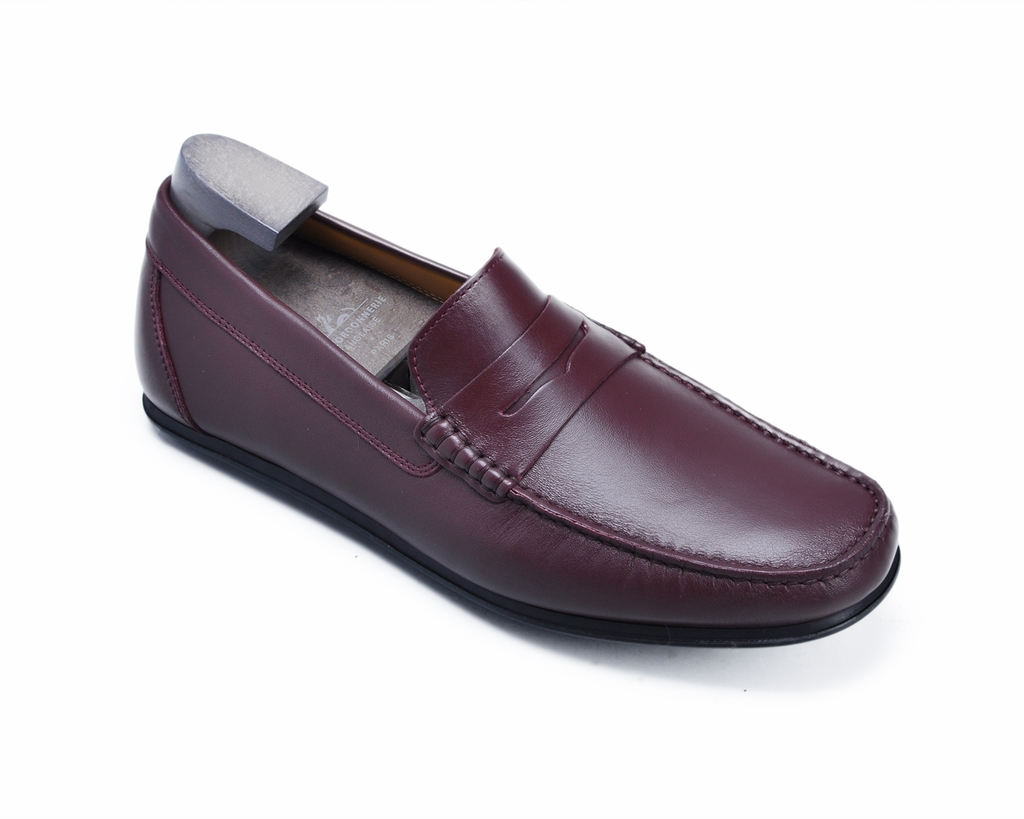 Giày Gianni Conti SP9641 Moccasin Italy - Bordeaux