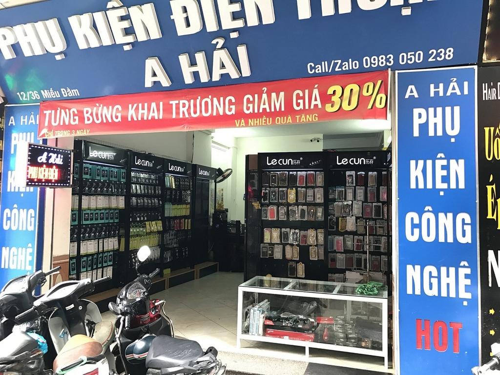Phụ Kiện A Hải có báo giá bán buôn phụ kiện điện thoại tốt nhất hiện nay!