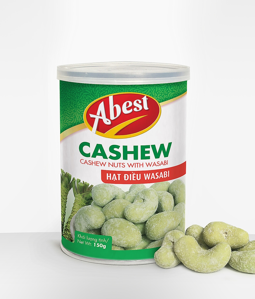 Cashew nut with Wasabim.