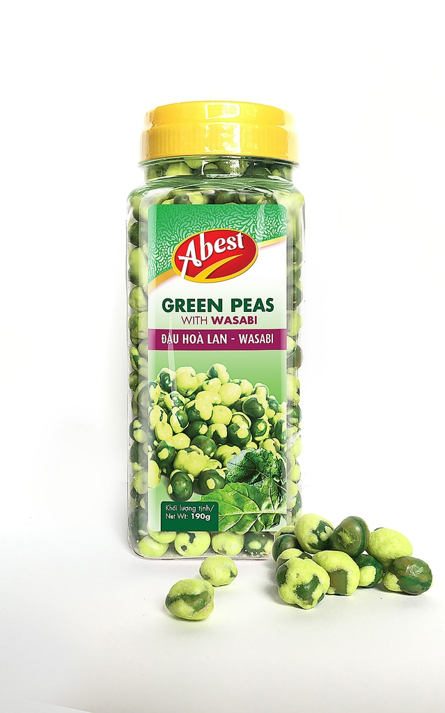 Green Peas with Wasabi.