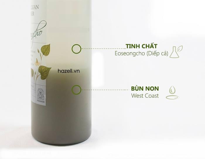 Nước Hoa Hồng Mamonde Pore Clean Toner 250ml 3