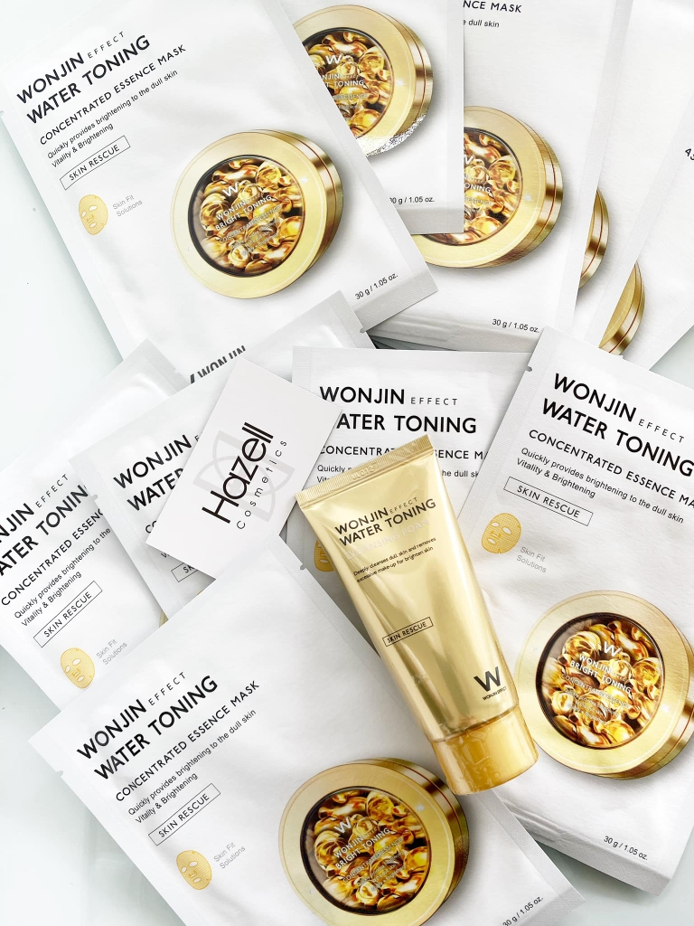Mặt nạ Wonjin Effect Water Toning Concentrated Essence Mask