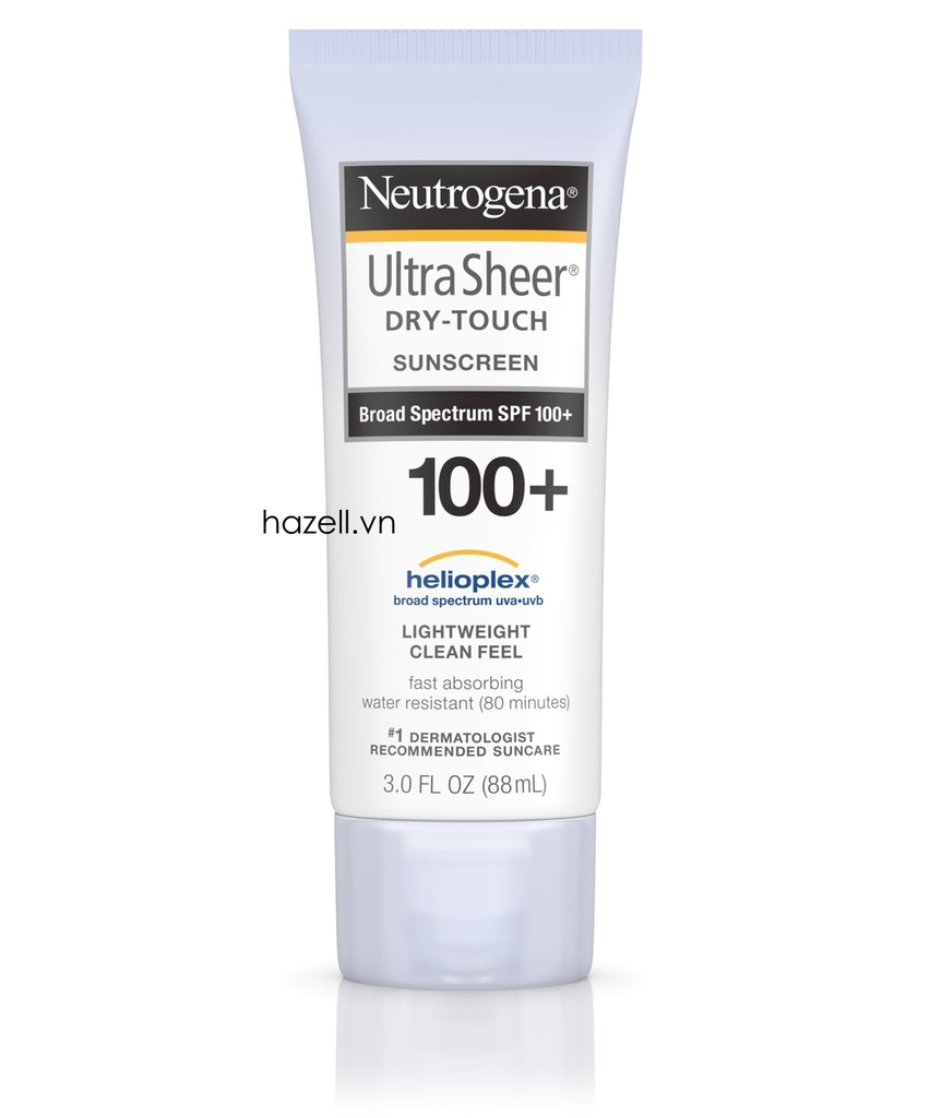 Kem chống nắng Neutrogena Ultra Sheer Dry-Touch Sunscreen Spf 100+ (88ml )