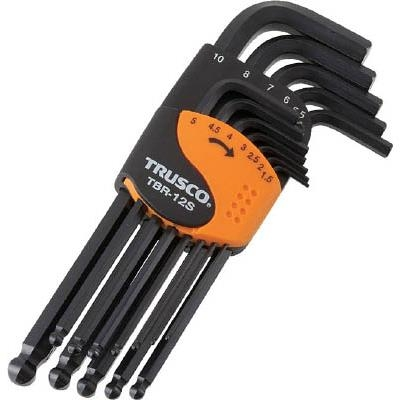 Bộ lục năng 12 chi tiết Trusco - # TBR-12S ( Ball-Point Hexagonal Wrench)