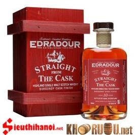Edradour 10 years - Burgundy
