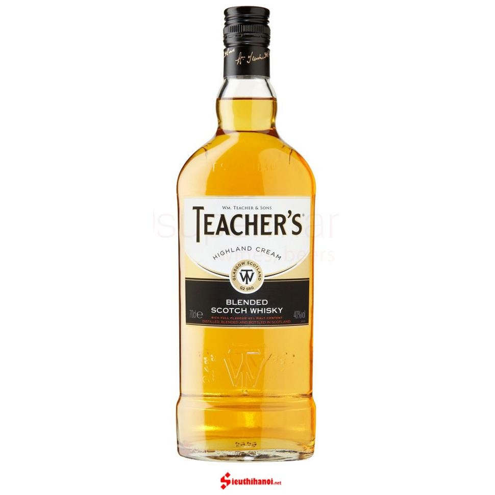 Teacher's Highland Cream + Giftbox