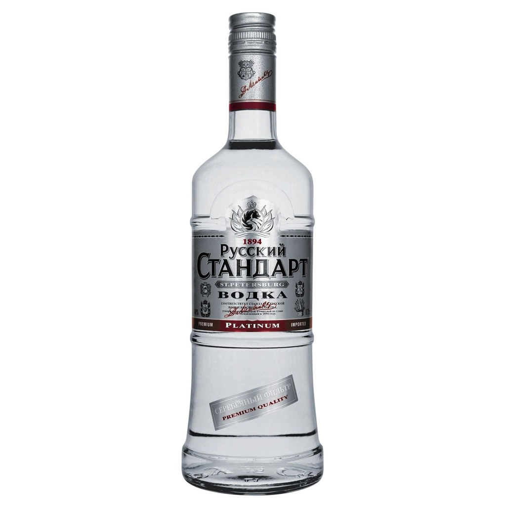 Vodka Russian Standard Platinum 0,7 lít