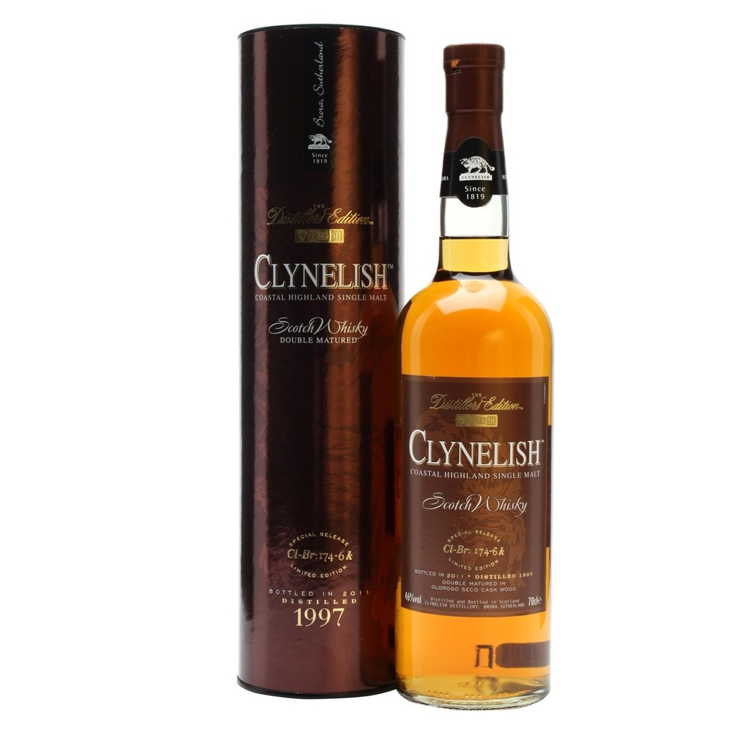 Rượu Clynelish 1997 Distillers Edition