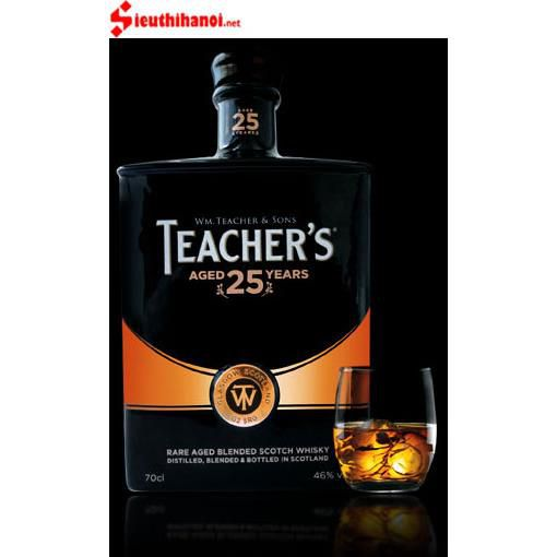 Rượu Teacher's 25 năm - Single Malt