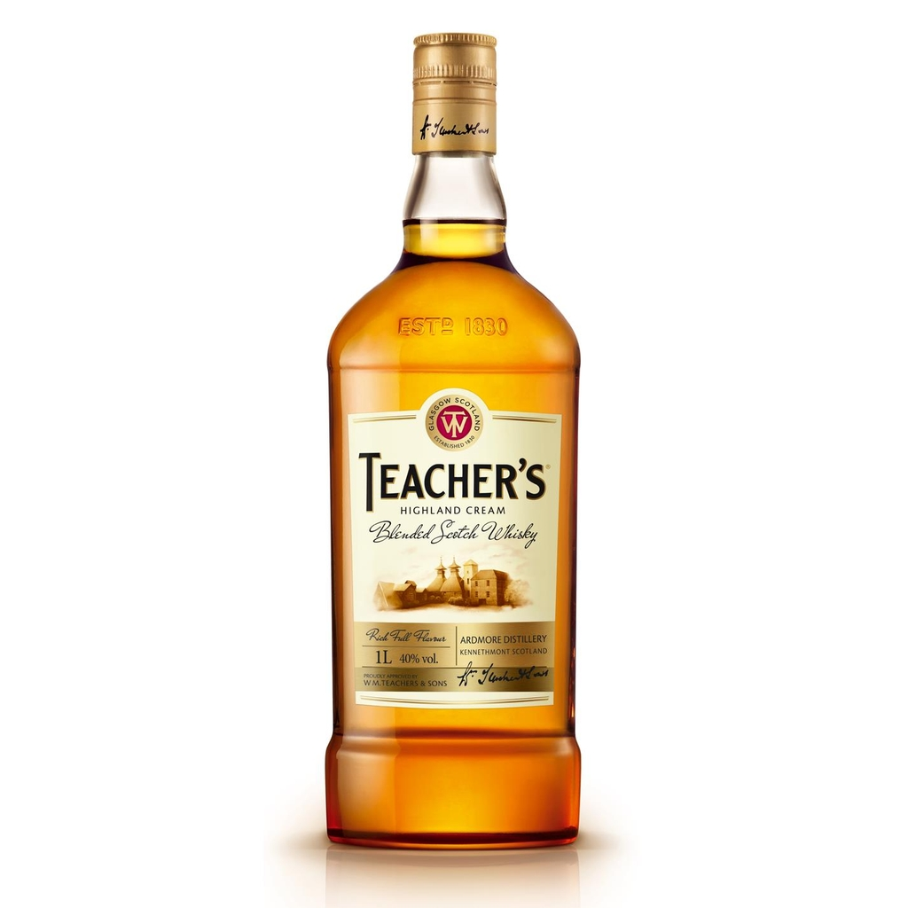 Teacher's HC Scotch Whisky + Hộp quà