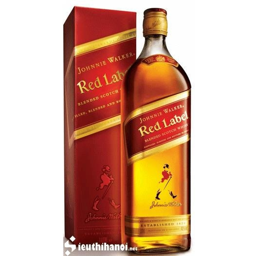 Rượu Johnnie Walker Red Label 1000ml