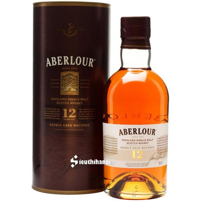 Aberlour 12 years Double Cask Matured 1000ml