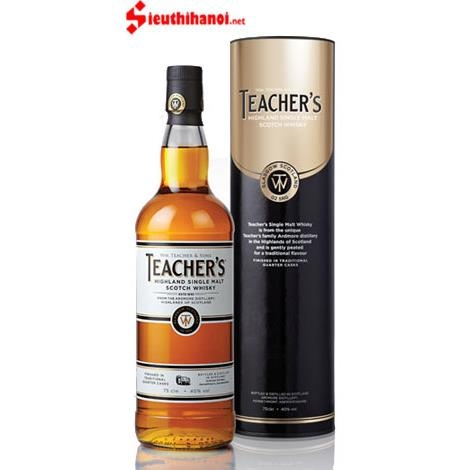 Bán rượu Teacher's Highland Single Malt