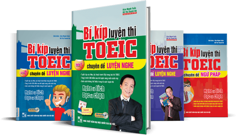 Combo luyện thi TOEIC