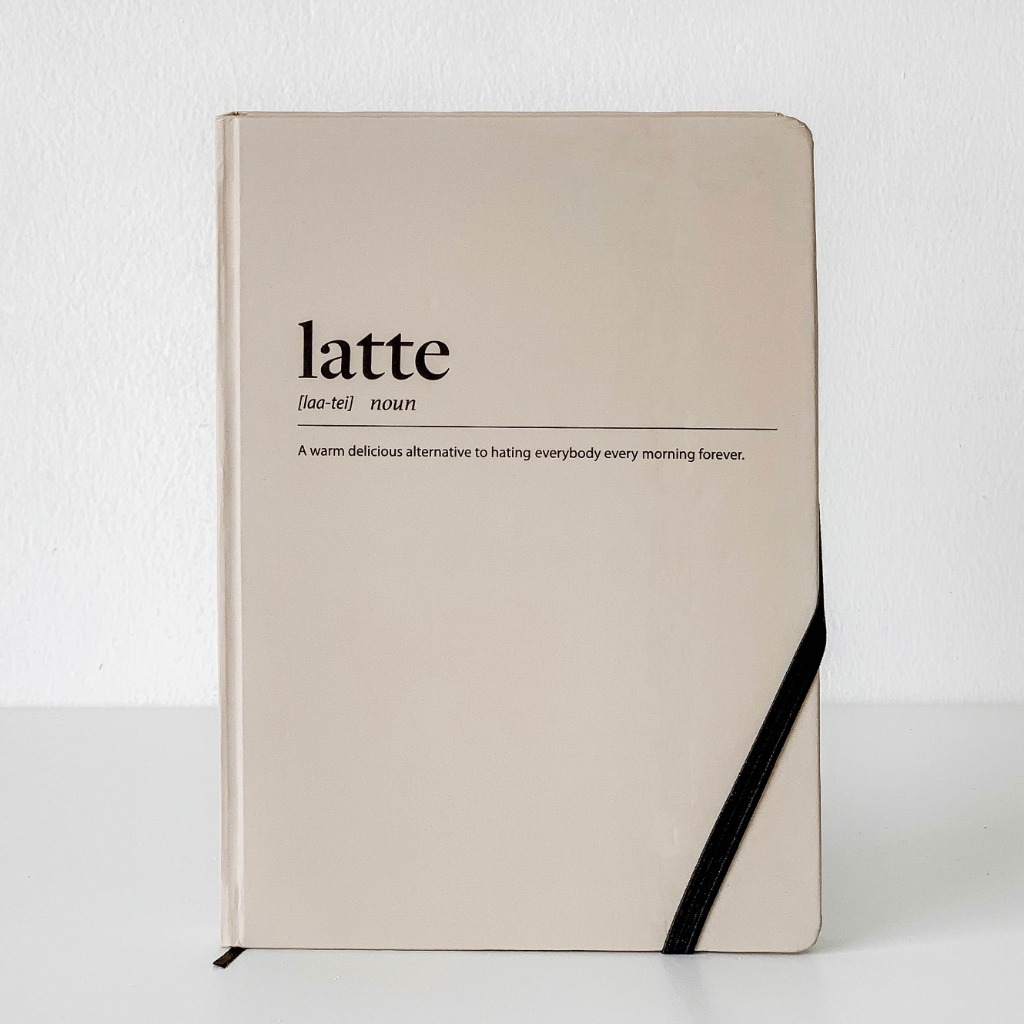 Sổ Tay Dotted - Coffeeine Latte