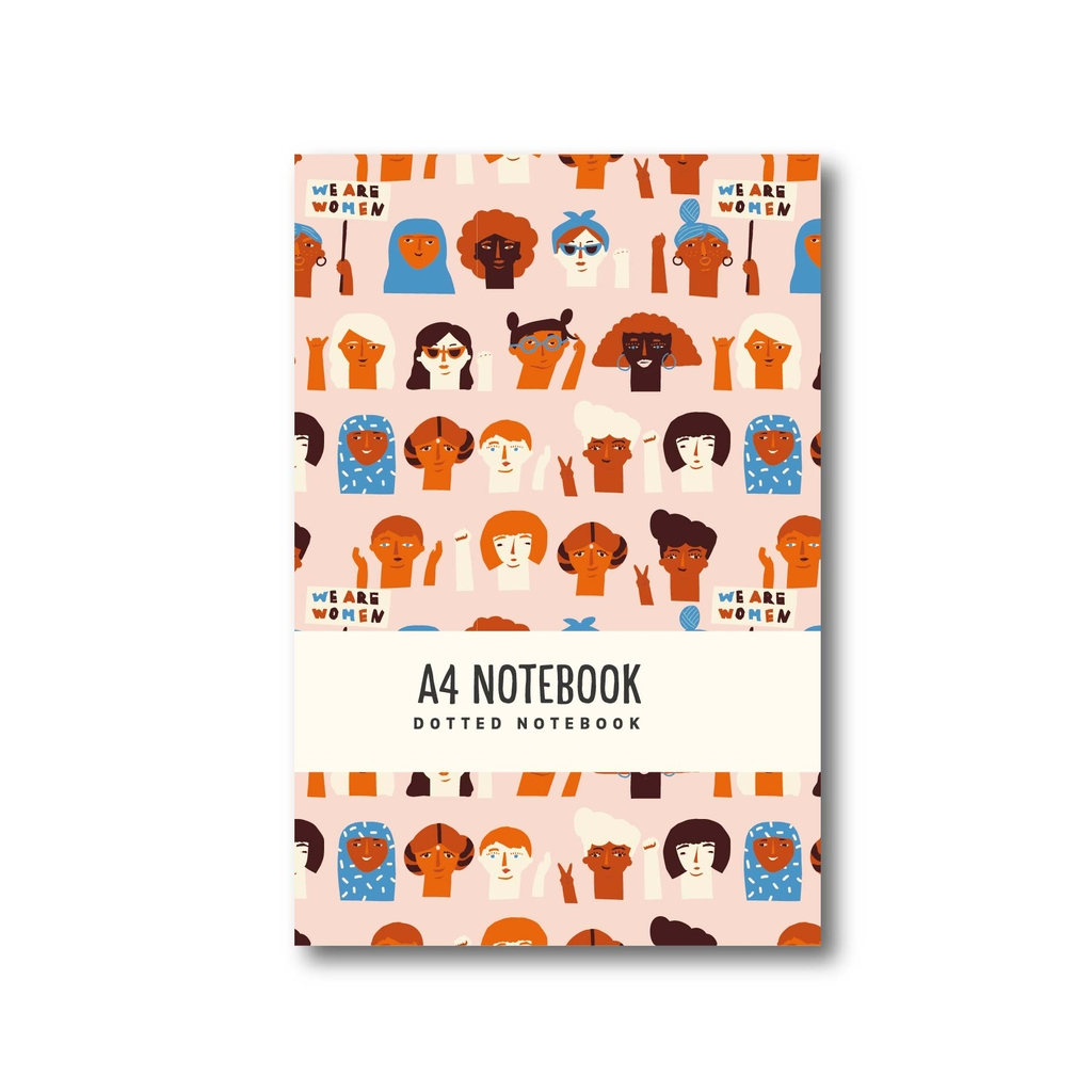 Sổ tay A4 - Dotted Notebook - Skin