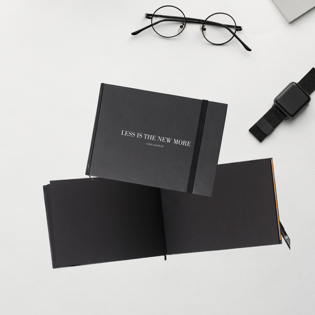Số Plain Less is the new more - The Black Book 130GSM