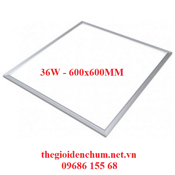 Đèn LED Panel siêu mỏng 36W - 600x600mm