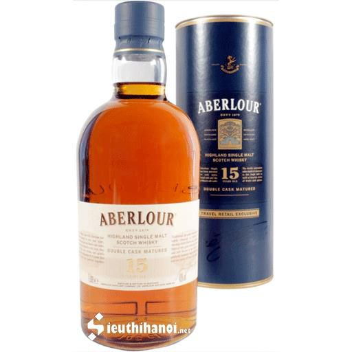 Rượu Aberlour 15 năm / Double Cask Matured