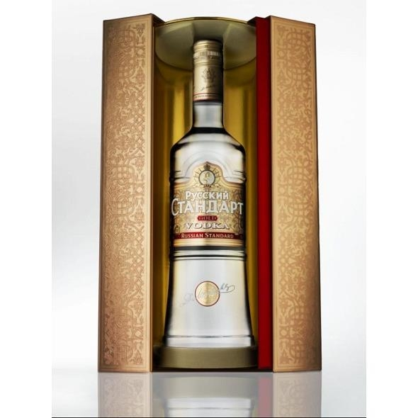 Vodka Russian Standard Gold + Giftbox
