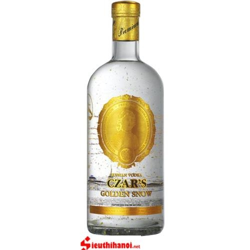 Rượu vodka Czar's Golden Snow