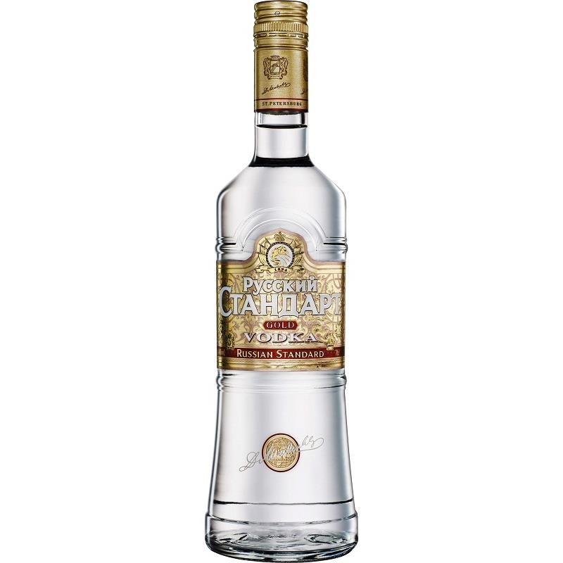 Vodka Russian Standard Gold 0,75 lít