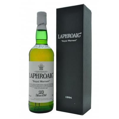 Laphroaig 10 năm Royal Warrant