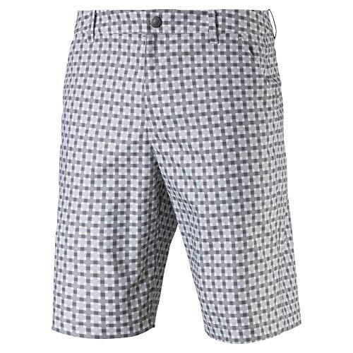 Quần short nam Puma Plaid-Quarry 57855001 (Q83)|Linking Golf