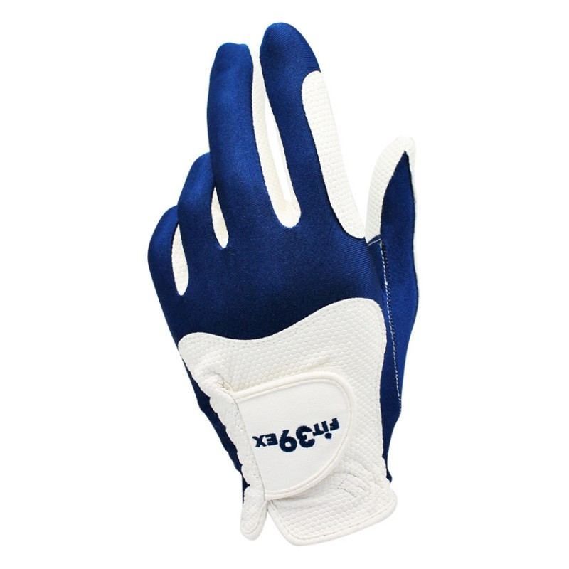 Găng Tay Golf Fit39ex White/Blue
