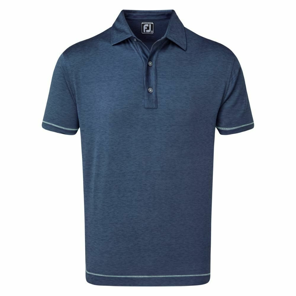FJ Lisle SpaceDye Microstripe Collar 86499 (A850)|Linking Golf