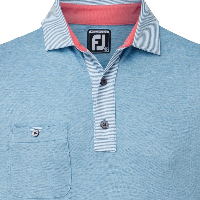 Áo golf nam FJ Pinstripe 82577(A2025)|Linking Golf