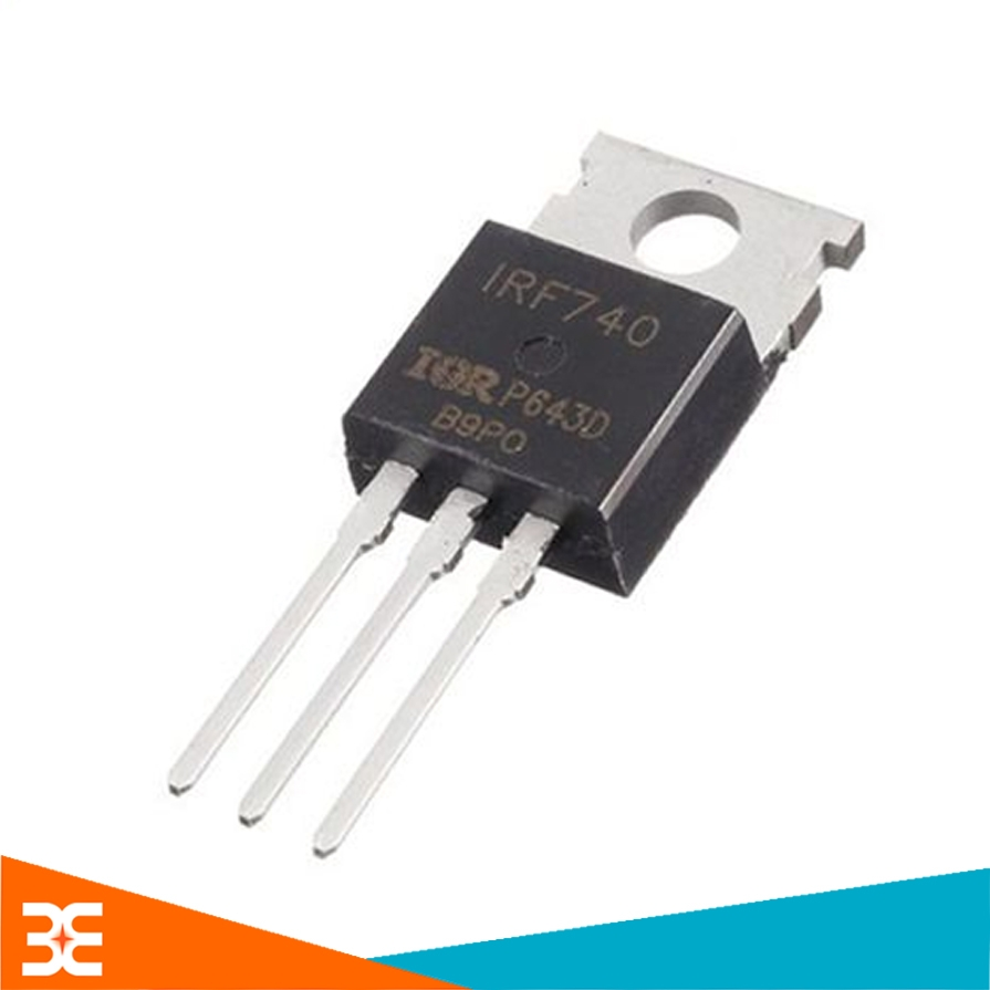 MOSFET IRF740 TO-220 10A 400V N-CH