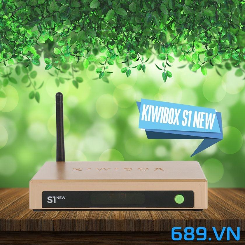 Android Tivi Box Kiwibox S1 New - Hàng Chính Hãng
