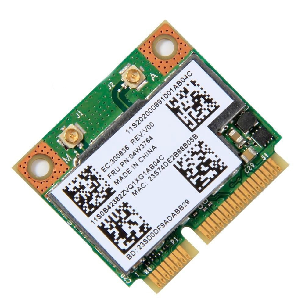 Card Wifi Laptop Lenovo BCM943228HMB 04W3764 MINI PCI-E / Wireless