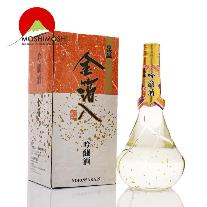 Rượu Sake Vảy Vàng Kinpakuiri Ginjo 720ml đạt chuẩn