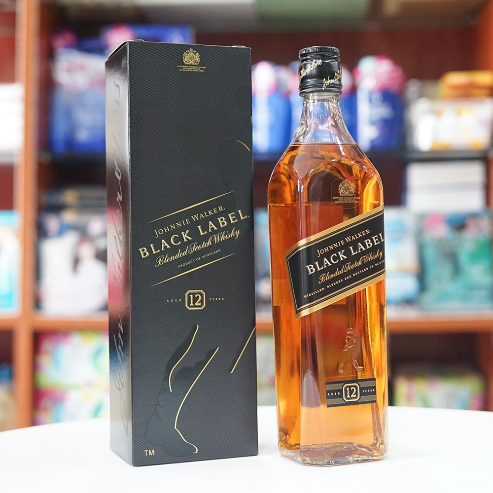 Rượu Johnnie Walker BLACK LABEL 700ml Nhật Bản