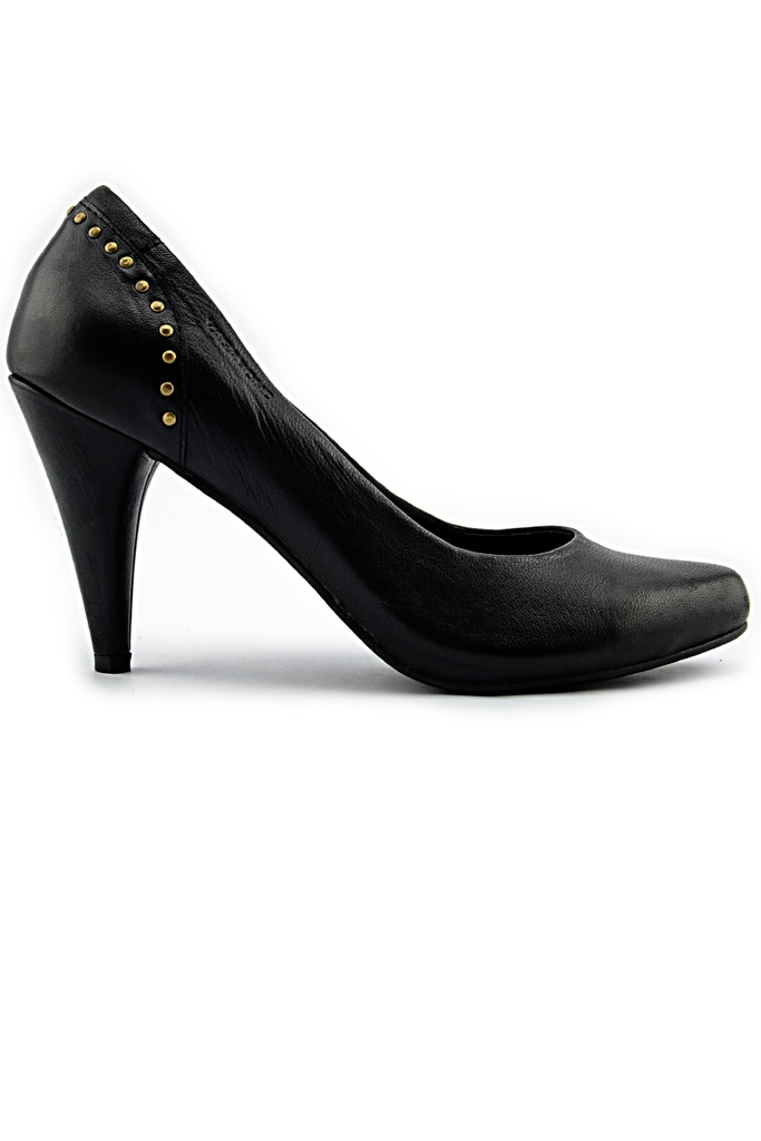VAGABOND Rocking Leather Pumps/ Black