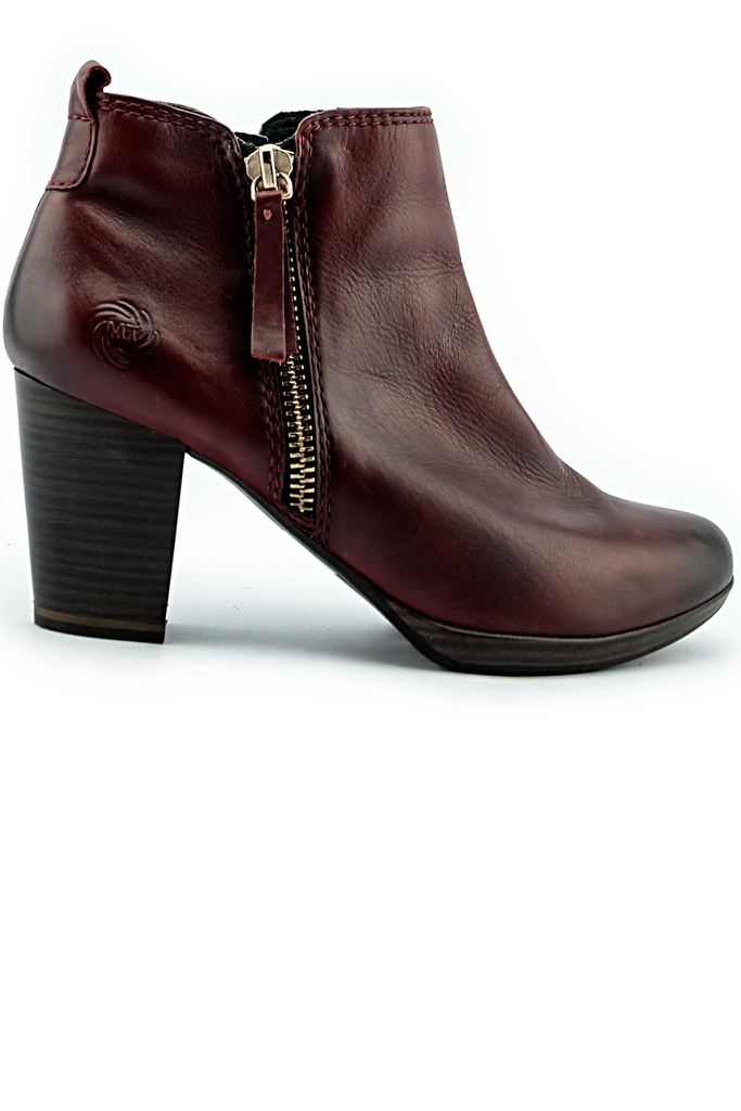 Bốt da MARCO TOZZI Leather Boots/ Oxblood