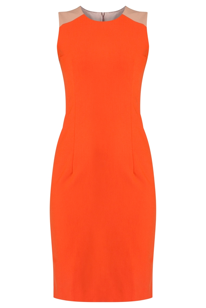 Đầm công sở Nicollette Sheath Dress/ Orange