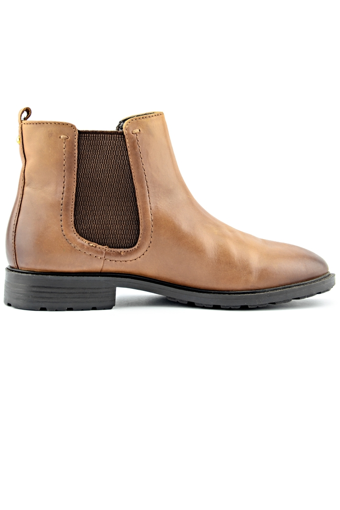 Bốt da TU Leather Boots/ Brown