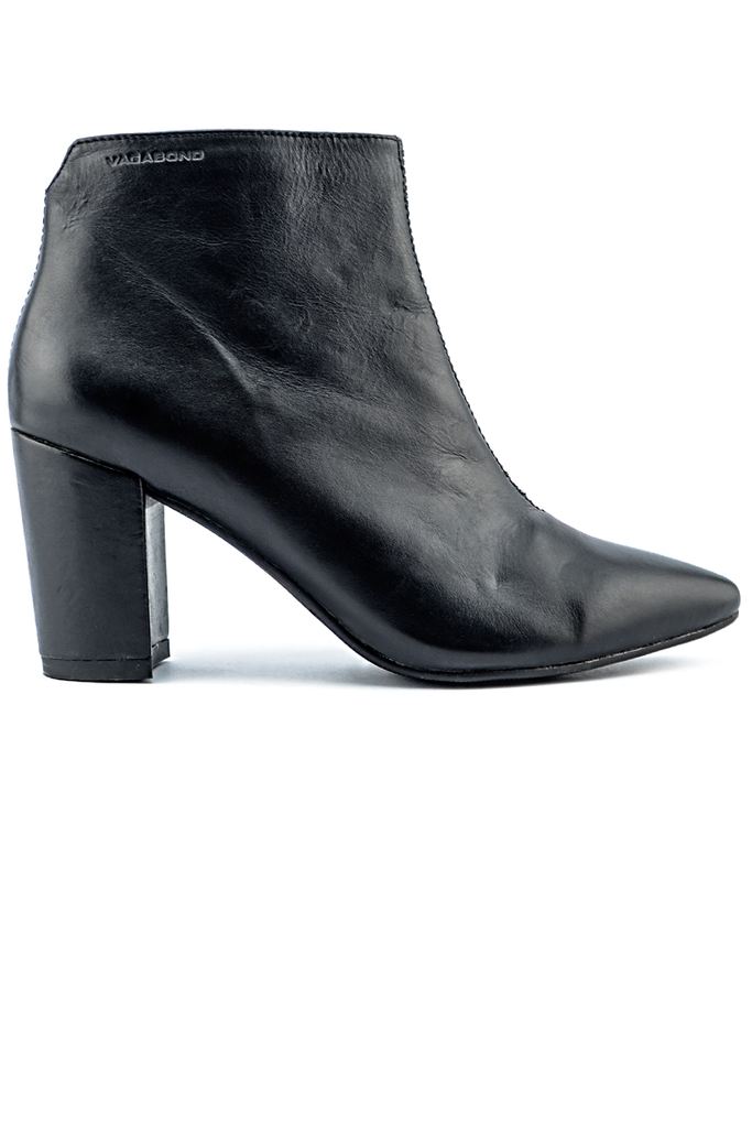 Vagabond Leather Boots/ Black