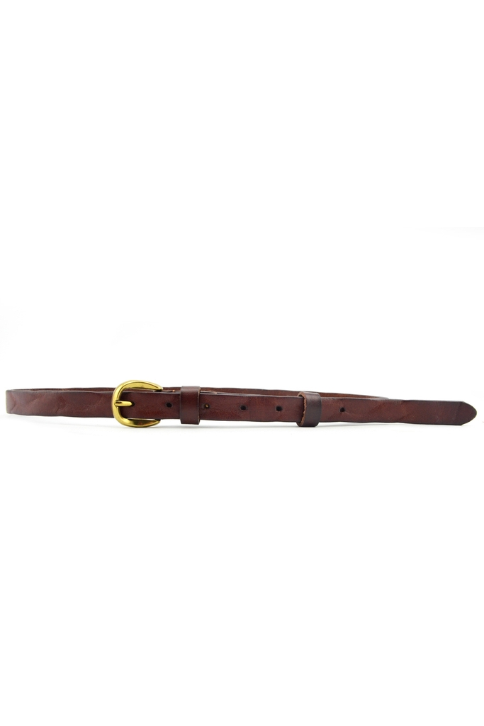 Dây lưng FOO & YOO Genuine Leather Belt 18mm (07)