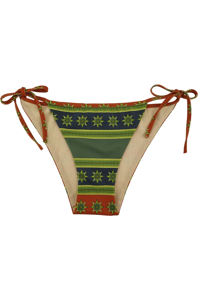 Quần bơi Clacie Triangle Bikini Brief/ Stripe Tree 2202