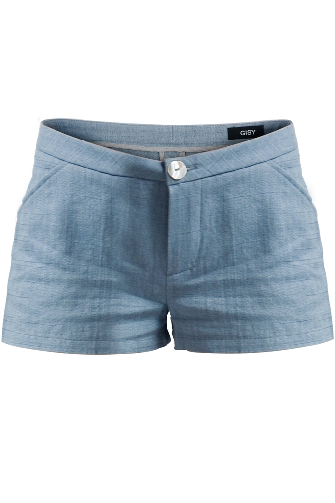 Quần Brynn Linen Shorts/ Ice Blue 2112