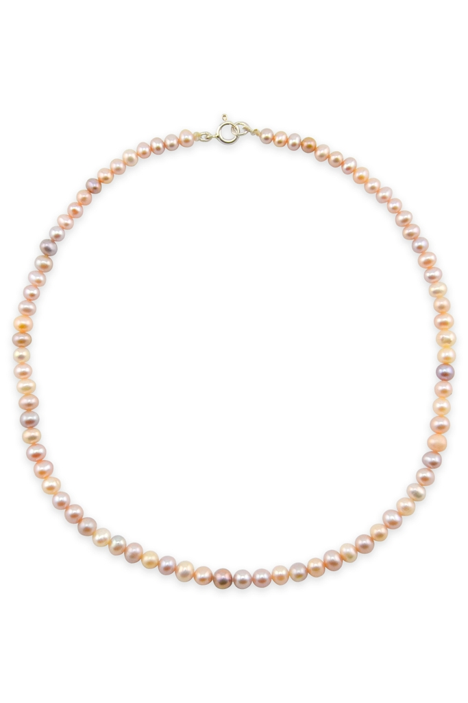 Vòng cổ Francessa Clacie 5mm Rose Pearl Necklace