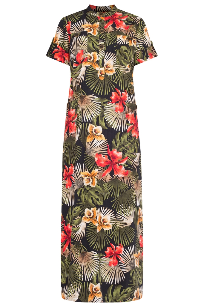 Đầm Tobago Maxi Shirt Dress/ RBG