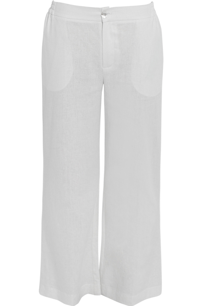 Quần Michelle Linen Pants/ White