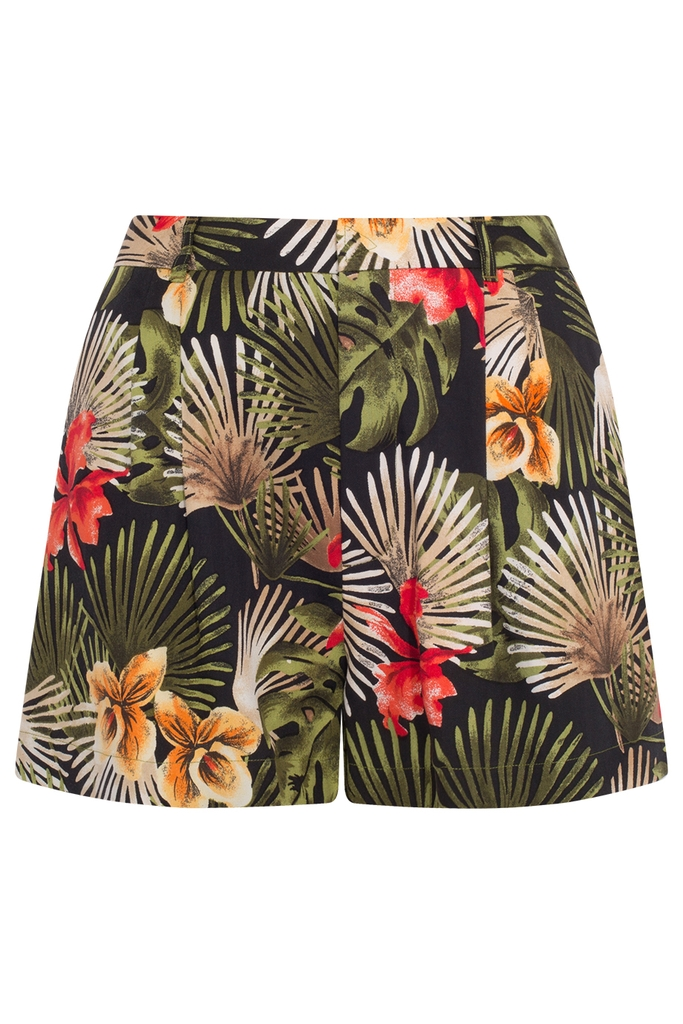 Kelly High-waisted Shorts/ RBG
